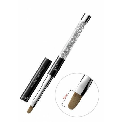 Semilac diamond cosmetics Semilac gel kolinsky brush 6 flat