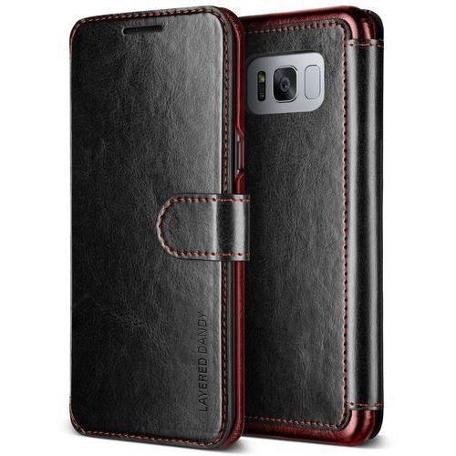 Etui VRS Design Layered Dandy Galaxy S8 Plus Black (8809477685541)