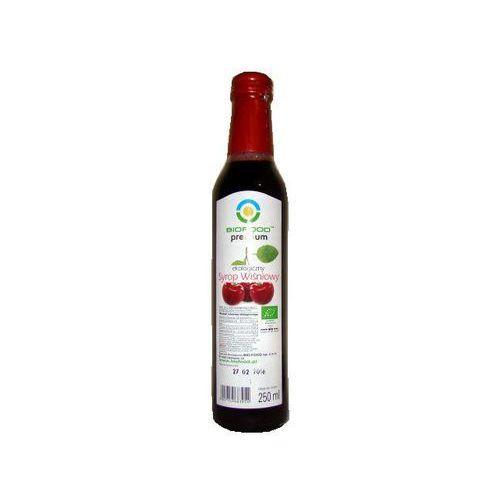 Syrop wiśniowy bio 250ml marki Bio food