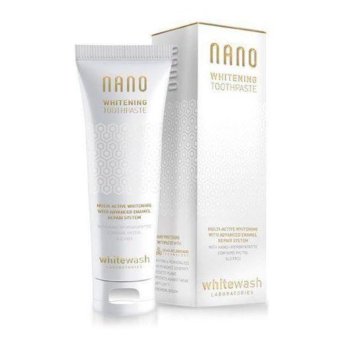 Nano whitening - luksusowa pasta wybielająca zęby 75ml marki Whitewash