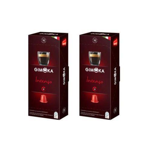 Zestaw 2x GIMOKA Intenso Nespresso Włoska Kawa W Kapsułkach 10szt.