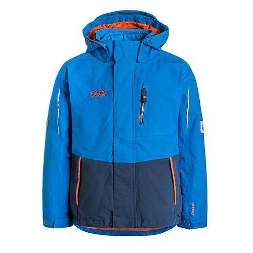 Jack Wolfskin CROSSWIND 3IN1 Kurtka hardshell brilliant blue - produkt z kategorii- kurtki dla dzieci