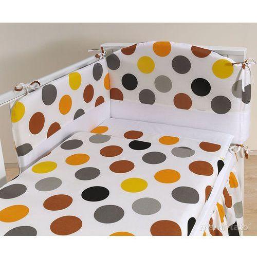 MAMO-TATO pościel 3-el Kule jesień do łóżeczka 60x120cm