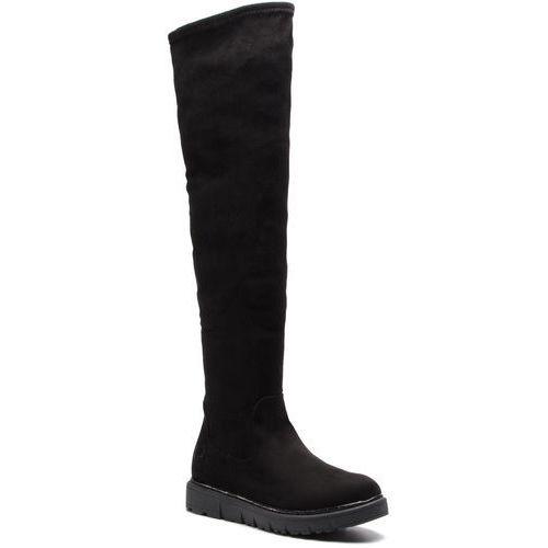 Muszkieterki BUGATTI - 431-57431-6400-1000 Schwarz, kolor czarny
