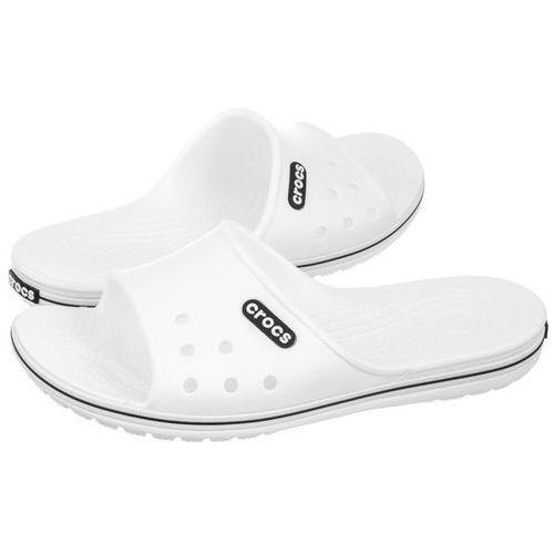Klapki Crocs Crocband II Slide White/Black 204108-103 (CR132-b), 204108-103