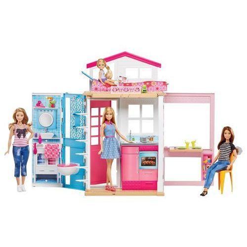 Barbie - domek dwupoziomowy marki Mattel