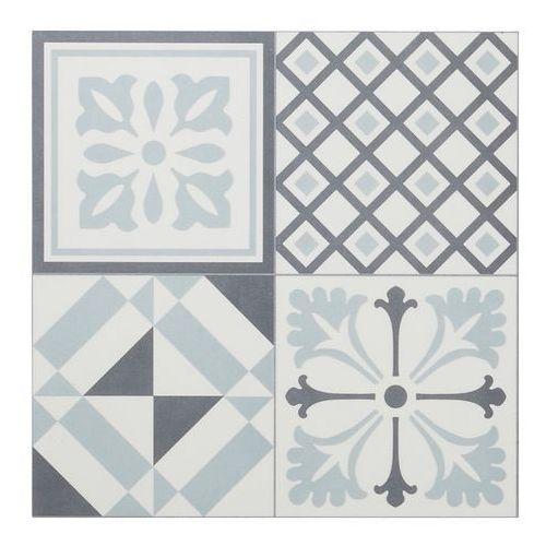 Panele podłogowe winylowe GoodHome 30,5 x 30,5 cm black & white cement tiles, PS015TD005