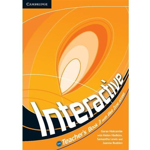 Interactive 3. Książka Nauczyciela, Cambridge University Press