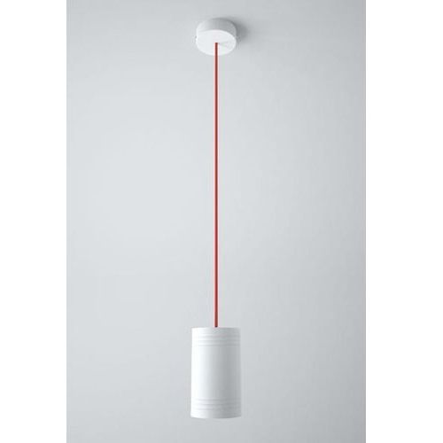 Lampa wisząca celia a1 z czerwonym przewodem żarówka led gratis!, 1271a1a+ marki Cleoni