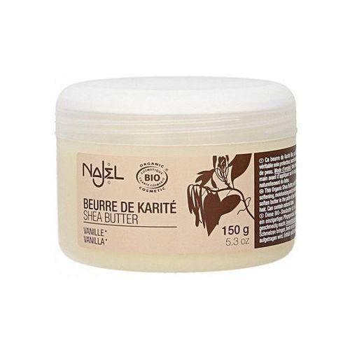 Organiczne masło shea o zapachu waniliowym, z ecocert marki Najel