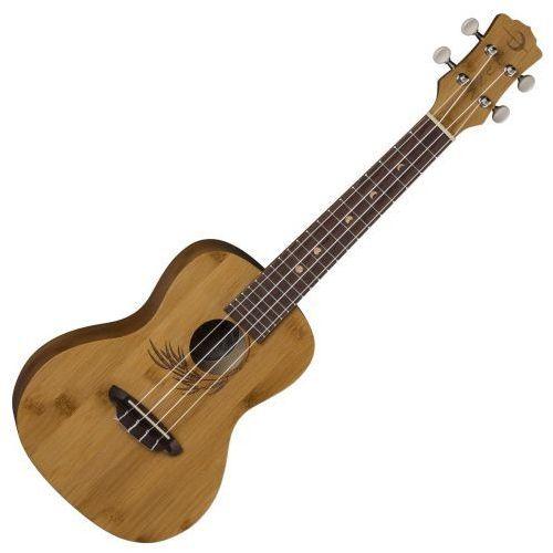 uke bamboo ukulele sopranowe z pokrowcem marki Luna