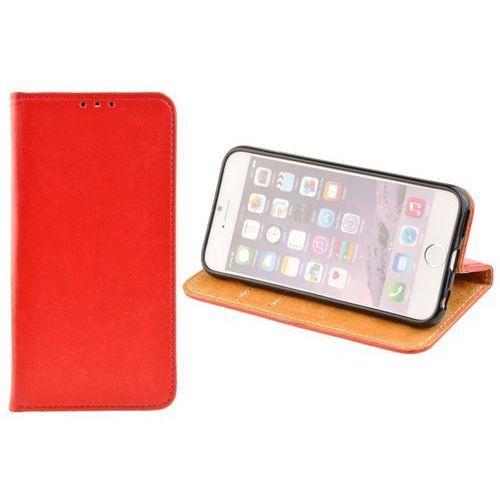 SKÓRZANE ETUI BOOK COVER do APPLE iPhone 6 Plus / iPhone 6S Plus czerwony (5900217229582)
