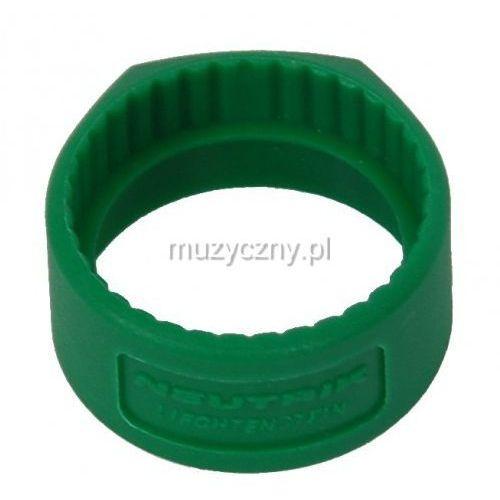 Neutrik pcr 5 pierścień na złącze np*c* (zielony)