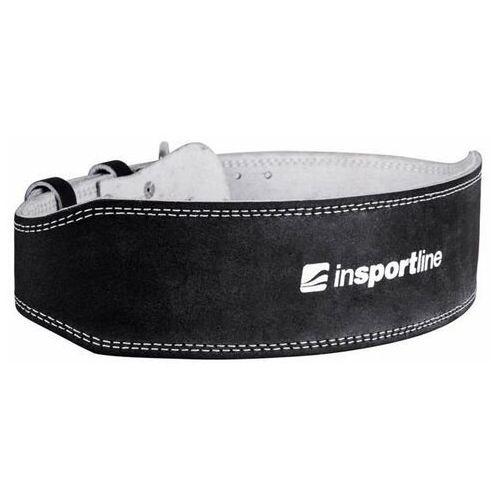 Skórzany pas kulturystyczny NF-9054 Insportline - czarny