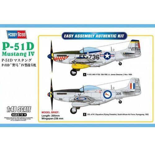 Hobby boss P-51d mustang iv fighter