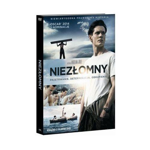 Niezłomny (dvd) - wydanie z książką - angelina jolie marki Filmostrada