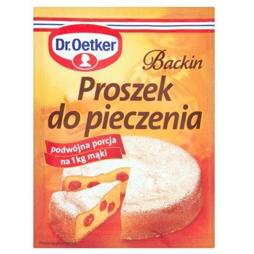 backin proszek do pieczenia 30 g marki Dr. oetker
