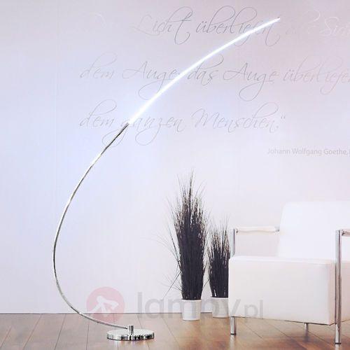 Leuchten-Direkt lampa stojąca LED Chrom, 1-punktowy - Nowoczesny/Design/Lokum dla młodych - Obszar wewnętrzny - Direkt - Czas dostawy: od 2-4 dni roboczych, E14030101299