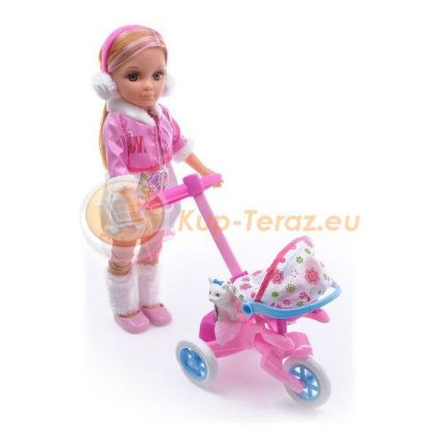 Modna Lalka Maylla Z Dzieckiem, Wózek + Akcesoria - produkt z kategorii- wózki dla lalek