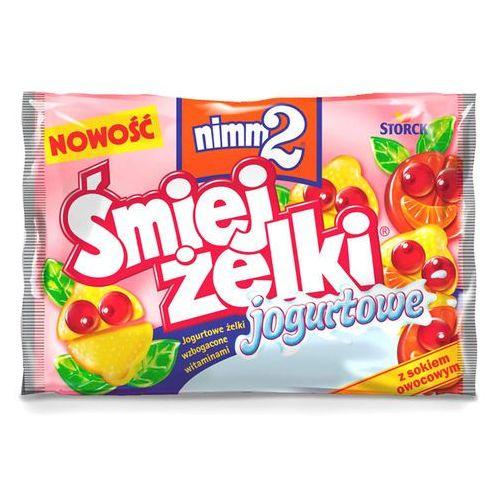 Storck Żelki owocowe nimm2 śmiejżelki jogurtowe wzbogacone witaminami 100 g (4014400913040)