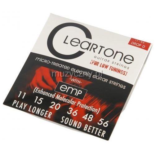 Cleartone monster heavy series 9456 drop d struny do gitary elektrycznej 11-56