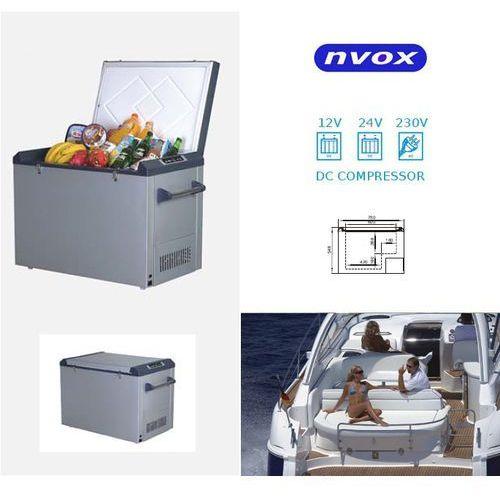 NVOX K82P Lodówka turystyczna samochodowa 82L sprężarkowa 12V 24V 230V - produkt z kategorii- lodówki turystyczne