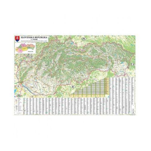 Mapa drogowa Słowacji