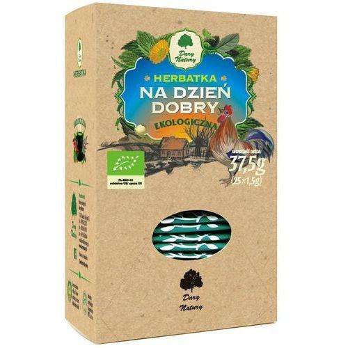 Herbatka na dzień dobry bio (25 x 1,5 g) - marki Dary natury