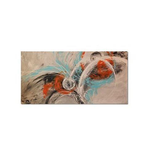 Abstrakcja, nowoczesny obraz ręcznie malowany (obraz)