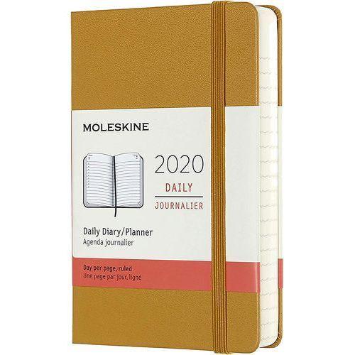 Kalendarz Moleskine 2020 Dzienny, Pocket, piaskowy, MODHM2112DC2Y20