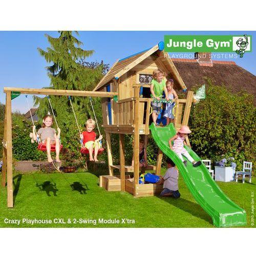 Jungle gym Drewniany plac zabaw dla dzieci domek cwanego