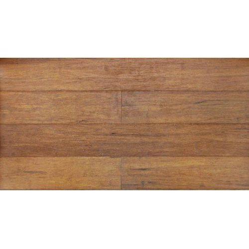 Miodowy Szczotkowany- Deska Bambusowa- WILD WOOD-uniclick ze sklepu Hurtownia Podłogi Drzwi