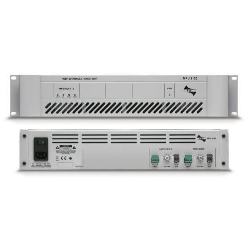 mpu 2120 wzmacniacz mocy linii 100v marki Fbt