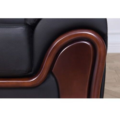 "Attribute=""product brand""} Sofa 3-osobowa palladio czarny"