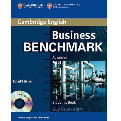 Business Benchmark Advanced BULATS Edition Książka Ucznia Plus CD-ROM, oprawa miękka