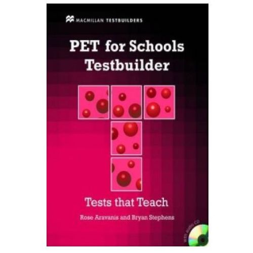 PET for Schools Testbuilder Student's Book with key & CD Pack (9780230407121)
