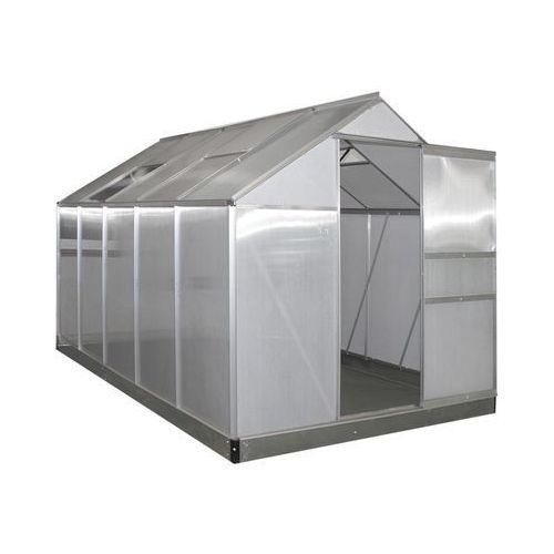Szklarnia ogrodowa 310 x 190 cm 6.6 m2 z poliwęglanu (5901721052956)