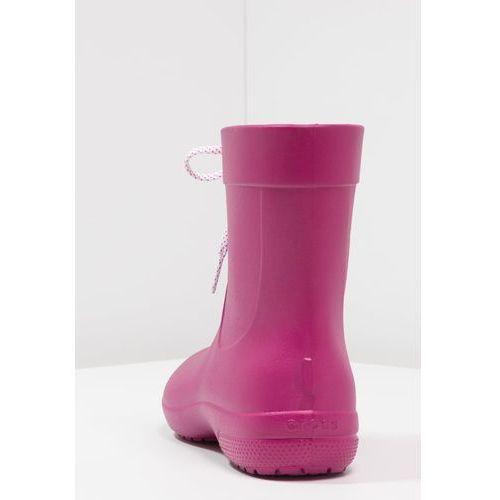 Crocs FREESAIL SHORTY Kalosze berry, kolor różowy