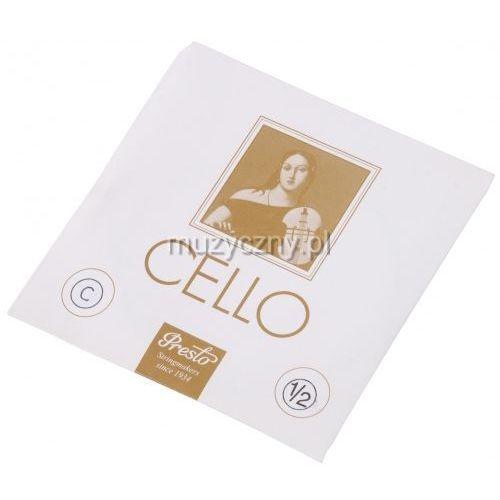 Presto cello 1/2 c struna wiolonczelowa