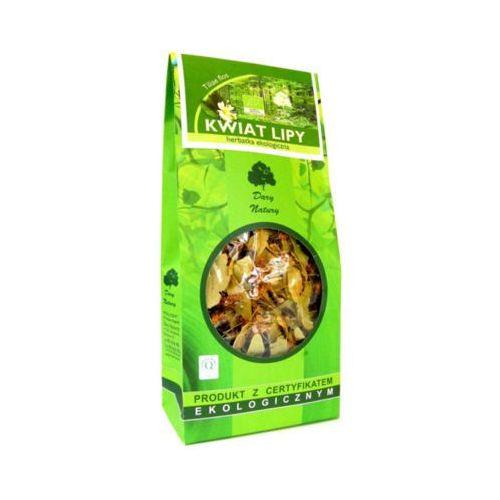30g herbata z kwiatu lipy saszetki bio marki Dary natury