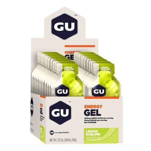 gel żywność dla sportowców lemon sublime 24x 32g 2018 batony i żele energetyczne marki Gu energy