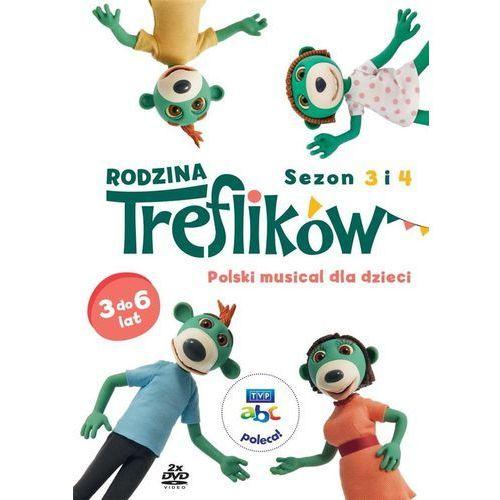 Rodzina treflików. sezon 3 i 4 (2 dvd) marki Telewizja polska s.a.