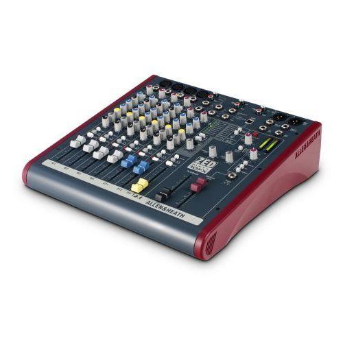 Allen&Heath ZED60 10FX mikser dźwięku z efektem, potencjometry suwakowe 60mm