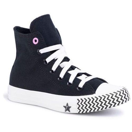 Trampki - ctas hi 566731c black/university red/white marki Converse