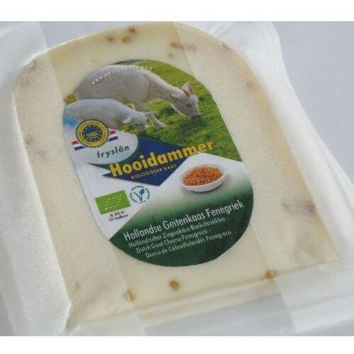 Kozi ser dojrzewający z kozieradką 50% tłuszczu bio 200 g - hooidammer marki Hooidammer (sery dojrzewające)