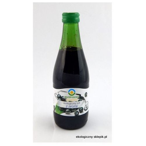 Sok z aronii 300 ml marki Bio food