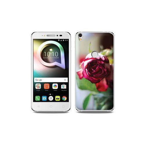Alcatel Shine Lite - etui na telefon Foto Case - pączek róży