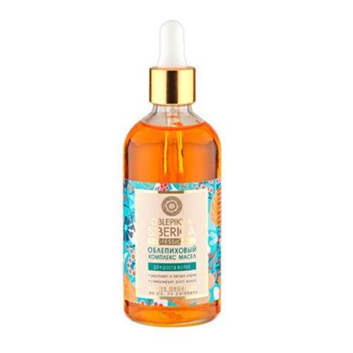 Professional - rokitnikowy kompleks olei do przyśpieszenia wzrostu włosów - organiczne oleje, produkt marki Natura Siberica