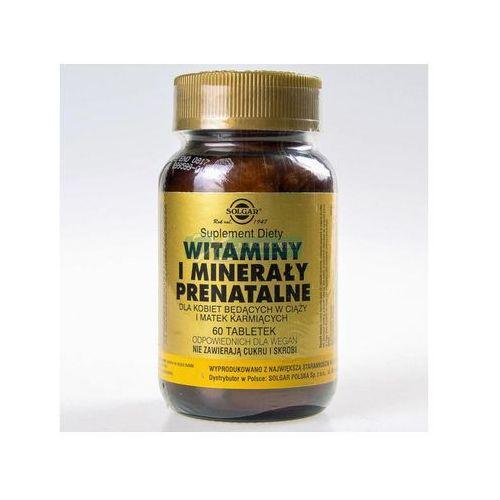 Tabletki SOLGAR Witaminy i minerały prenatalne tabl. - 60 tabl.