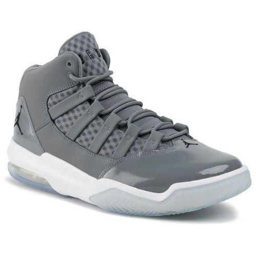 Nike Buty - jordan max aura aq9084 010 cool grey/black/white/clear